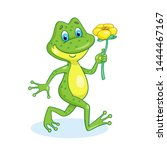 Funny Frog Comes With A Yellow...