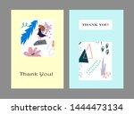 creative universal artistic... | Shutterstock .eps vector #1444473134