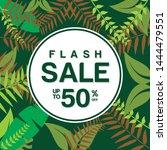 flash sale banner.vector...   Shutterstock .eps vector #1444479551