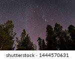 Starry night sky over Flagstaff, Arizona