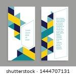 geometric background for poster ...   Shutterstock .eps vector #1444707131