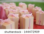 wedding gift for guest | Shutterstock . vector #144472909