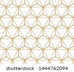 the geometric pattern with... | Shutterstock . vector #1444762094