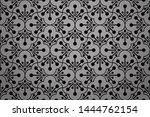 flower geometric pattern.... | Shutterstock . vector #1444762154