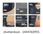 social media banner template... | Shutterstock .eps vector #1444763951