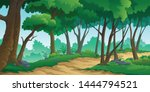 illustration of a tree and... | Shutterstock .eps vector #1444794521
