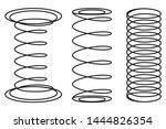 orthopedic mattress springs ...   Shutterstock .eps vector #1444826354