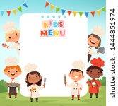 Children Cooking Background....