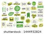 organic food  eco  vegan and... | Shutterstock .eps vector #1444932824