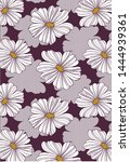 textile flower pattern design...   Shutterstock . vector #1444939361