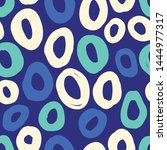 simple seamless pattern with... | Shutterstock .eps vector #1444977317