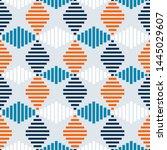 seamless geometric pattern.... | Shutterstock .eps vector #1445029607