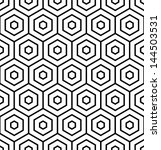 hexagons texture. seamless... | Shutterstock .eps vector #144503531