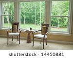 interior setting by window... | Shutterstock . vector #14450881