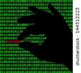 resumen,fondo,barricada,negro,cifrado,equipo,confiscados,delito,delito cibernético,delito informático,peligro,pruebas,fraude,verde,hacker