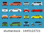 car type model vehicle objects... | Shutterstock . vector #1445122721