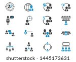 people icon business vector... | Shutterstock .eps vector #1445173631