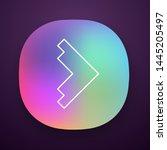 right arrowhead app icon....
