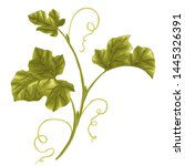 illustration of a decorative... | Shutterstock .eps vector #1445326391