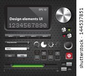 design elements dark user...