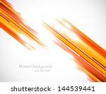 orange straight lines | Shutterstock .eps vector #144539441