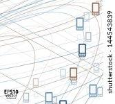 phone background | Shutterstock .eps vector #144543839