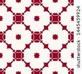 raster floral geometric... | Shutterstock . vector #1445459924
