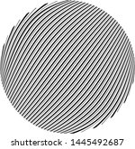 round shape circle design... | Shutterstock .eps vector #1445492687