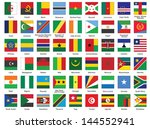 set of square icons with... | Shutterstock .eps vector #144552941