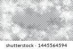 christmas blurred illustration... | Shutterstock .eps vector #1445564594
