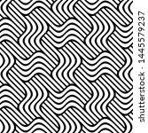 vector seamless texture. modern ... | Shutterstock .eps vector #1445579237