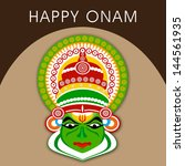 south indian festival onam... | Shutterstock .eps vector #144561935