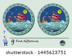 logic puzzle game for children. ... | Shutterstock .eps vector #1445623751