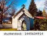 Beautiful Church In Autumn...