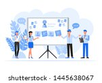 business people character... | Shutterstock .eps vector #1445638067