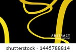 abstract curve line wave... | Shutterstock .eps vector #1445788814