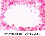 pink strass   studio shot trend ... | Shutterstock . vector #144581657