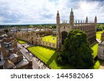 Cambridge University And Kings...