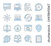 search engine optimization ... | Shutterstock .eps vector #1445845067