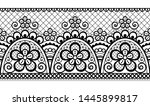 seamless vector pattern   retro ... | Shutterstock .eps vector #1445899817