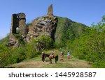 borjomi  georgia   circle may... | Shutterstock . vector #1445928587