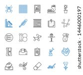 clip icons set. collection of... | Shutterstock .eps vector #1446000197