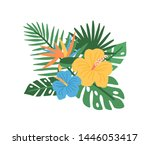 elegant natural composition... | Shutterstock .eps vector #1446053417
