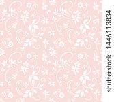 a seamless vector background.... | Shutterstock .eps vector #1446113834