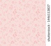 a seamless vector background.... | Shutterstock .eps vector #1446113837
