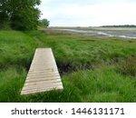 Boardwalk on the Anglesey Coastal Path near Dulas
