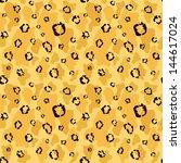leopard skin raster seamless... | Shutterstock . vector #144617024