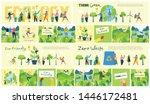 vector illustration eco... | Shutterstock .eps vector #1446172481