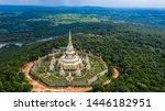 Aerial View Phra Maha Chedi...