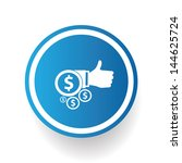 like money symbol vector | Shutterstock .eps vector #144625724